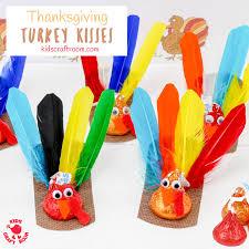 thanksgiving turkey kisses craft craft room