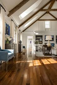 minimalist light hardwood floors for modern home construction