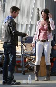 megan fox transformers 2 still wallpapers megan fox u0026 shia labeouf images on set of transformers revenge of