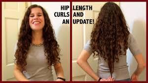 v shaped haircut for curly hair length check hair goals u0026 my hip length hair youtube