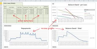 loan excel template choice image templates example free download