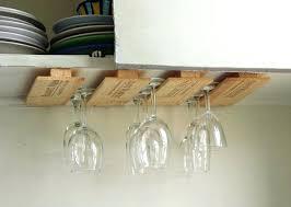 Wine Glass Chandelier Diy Diy Wine Glass Rack Glassnyc Co