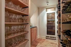 in floor wine cellar wine room design ideas