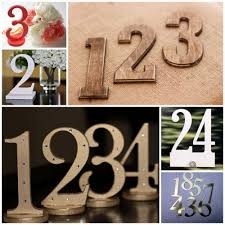 Wedding Table Number Ideas Creative Table Number Ideas For Your Wedding Receptionbeau Coup Blog