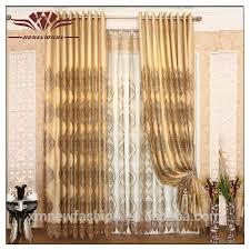 rideaux de chambre à coucher rideau chambre rideau dentelle brode en blanc et bleu truquoise