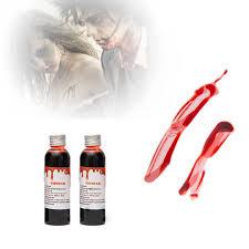 Fake Blood Halloween Costume Popular Fake Blood Buy Cheap Fake Blood Lots China Fake Blood