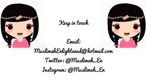 blogger muslimah muslimah enlightened