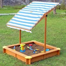 Backyard Sandbox Ideas Merry Products 4 U0027 Square Sandbox With Cover U0026 Reviews Wayfair