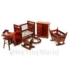 solid wood nursery furniture sets furniture sets dolls house miniature mytinyworld