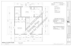 small home blueprints 1100 sq ft country cottage cabin small home plans blueprints
