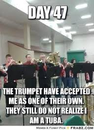 Trumpet Player Memes - band kid korner batavia 5th grade band rocks