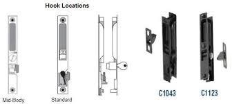 Patio Door Handle With Lock Sliding Glass Door Lock Replacement Great Sliding Door Hardware On