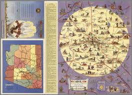 Map Of Phoenix by Valley Of The Sun A Pictorial Guide Of Phoenix And Central