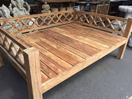 Wooden Outdoor Daybed Furniture - 13 best indonesian wooden craft images on pinterest bali