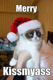 Grumpy Cat Yes Meme - not everyone likes christmas yes i agree its to commercialized