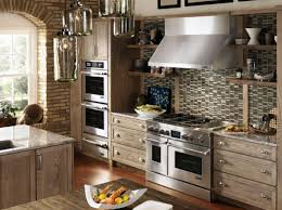 backsplash kitchen ideas cheap glass mosaic tile backsplash