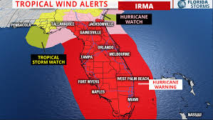 Unf Campus Map Jacksonville Under Hurricane Warning As Hurricane Irma Approaches