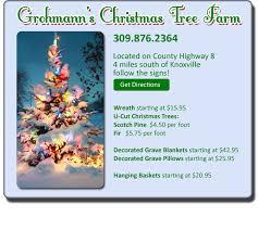 galesburg info gromann u0027s christmas tree farm