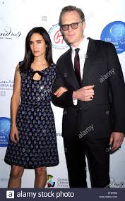 jennifer connolly and paul bettany attending the un women for