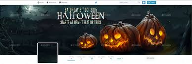 halloween twitter header by doto graphicriver