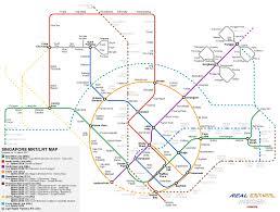 Botanic Garden Mrt A Map Of Singapore S Mrt And Lrt Network Real Estate Insider Sg