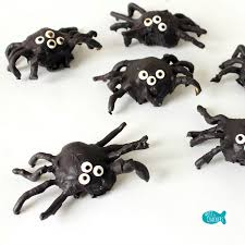 cute spider cookie balls treat