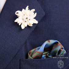 boutonniere flower edelweiss boutonniere buttonhole flower by fort belvedere