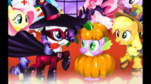 my little pony halloween costumes cartoon game movie for kids