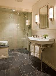 cheap flooring ideas bathroom traditional with large sink wall