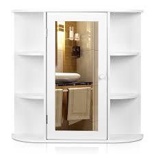 Amazon Bathroom Furniture by Amazon Com Homfa Bathroom Wall Cabinet Multipurpose Kitchen