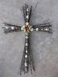 handmade barbed wire cross barbed wire rustic barbed wire with