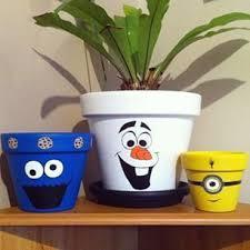 Painting Garden Pots Ideas Flower Pots Make Them Unique Just For Your Garden Creative