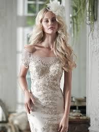 sheath wedding dress riviera wedding dress maggie sottero
