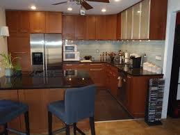 ikea adel medium brown kitchen cabinets ikea kitchen adel medium brown in hoboken contemporary