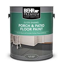 Painted Patio Pavers Porch U0026 Patio Floor Paint Gloss Enamel Behr Premium Behr