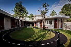 kensington international kindergarten plan architect archdaily