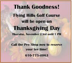 flying golf course