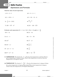 Matrix Worksheets Algebra 2 Practice Quadratic Equation Factorization