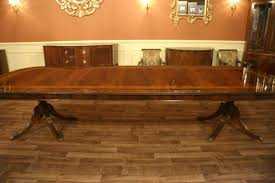 large dining room table designer dining table double pedestal