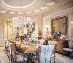 Luxury Dining Room Luxury Dining Room Furniture With Chandelier And Candelabra