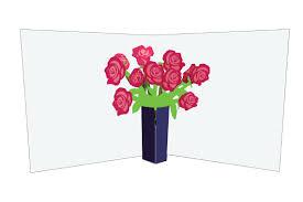 flower vases roses