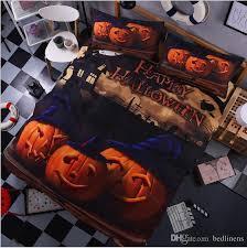 3d Bedroom Sets by Amazing Halloween Pumpkin 3d Bedding Sets Cartoon Bedspread Twin