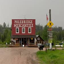 Montana slow travel images Polebridge montana the no power mountain town jpg