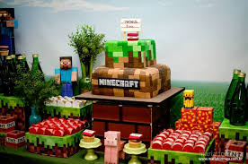 minecraft cupcake ideas kara s party ideas steve and creeper minecraft birthday party