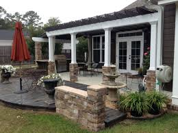 patio ideas craftsman style patio homes ranch style patio homes