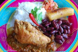 cuisine de la r nion assiette créole de la réunion massalé de poulet cuisine métisse