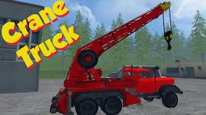 farming simulator 2015 crane truck mod magirus 200d26a mod