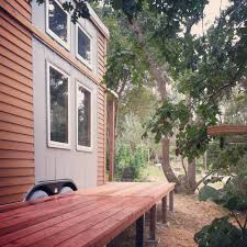 Backyard Tiny House Redwood Deck Tiny House Project Buy Redwood