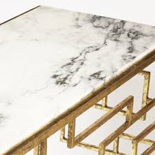 Pulaski Console Table Geometric Gold Foil Console Table From Pulaski Coleman Furniture