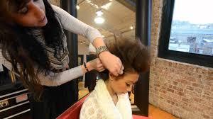 how to do a mohawk updo from shag salon boston youtube